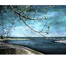 Barrier Beach - Old Woman Creek Photographic Print