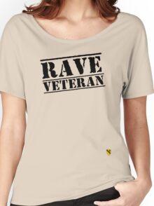 Rave Veteran - Black Women's Relaxed Fit T-Shirt