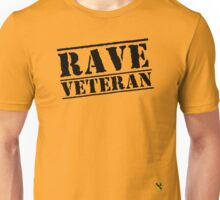 Rave Veteran - Black Unisex T-Shirt