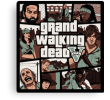 Grand Walking Dead Canvas Print