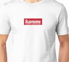 Supreme Paint Drip Box Logo Unisex T-Shirt