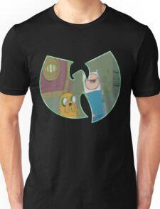 Adventure Time Forever - Green Outline Unisex T-Shirt
