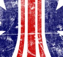 USCM Stars and Stripes Sticker