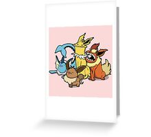Number 133, 134, 135 and 136 Greeting Card