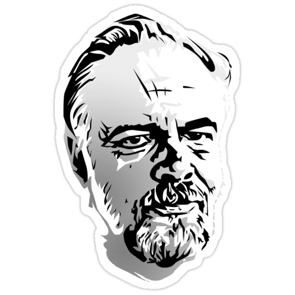 Philip K. Dick by synaptyx