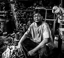 The Mechanic by kotchenography