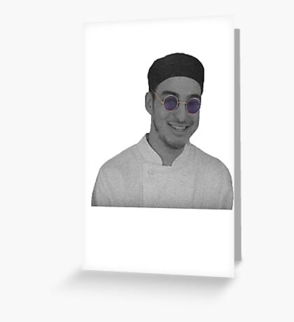 Filthy Frank Greeting Card