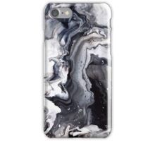 Marble Design Black and White iPhone Case/Skin