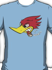 wild woodpecker horizontal T-Shirt