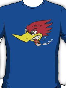 wild woodpecker horizontal T-Shirt