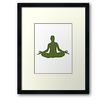 Yoga Framed Print