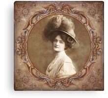 Vintage Portrait Canvas Print