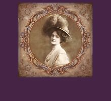 Vintage Portrait Womens Fitted T-Shirt