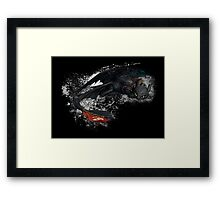 Toothless Framed Print