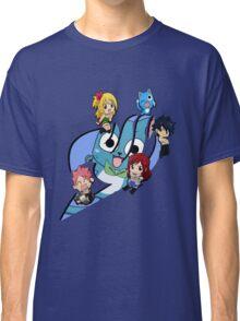 Fairy Tail Chibi Big Logo, Anime Classic T-Shirt