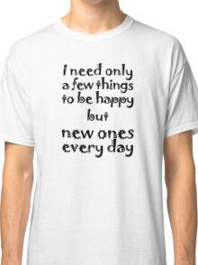 Mantra for Shopaholics Classic T-Shirt