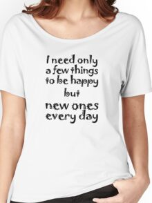 Mantra for Shopaholics Women's Relaxed Fit T-Shirt
