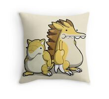 Number 27 and 28 Throw Pillow