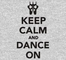 Keep calm and dance on ballet One Piece - Long Sleeve