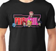 Fairy Tail Chibi Vertical Logo, Anime Unisex T-Shirt