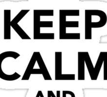 Keep calm and do Gymnastics Sticker