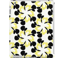 Black and Yellow Petals  iPad Case/Skin