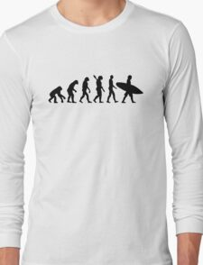 Evolution surfing surf board T-Shirt