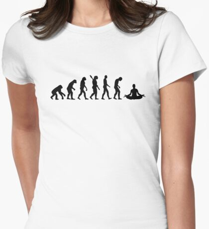 Yoga evolution Womens Fitted T-Shirt