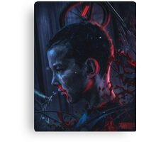 stranger things series Canvas Print