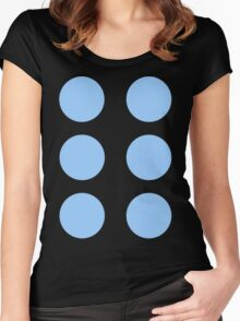 Thor Circle Armour Blue Women's Fitted Scoop T-Shirt
