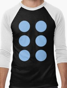 Thor Circle Armour Blue Men's Baseball ¾ T-Shirt