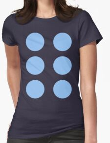 Thor Circle Armour Blue Womens Fitted T-Shirt