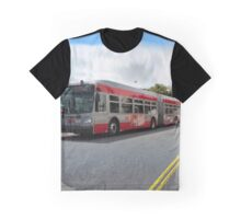 60-foot biodiesel-electric hybrid bus San Francisco Graphic T-Shirt