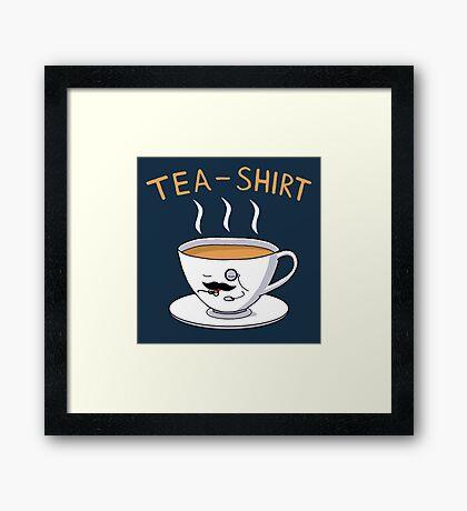 Tea Shirt Framed Print