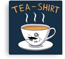Tea Shirt Canvas Print