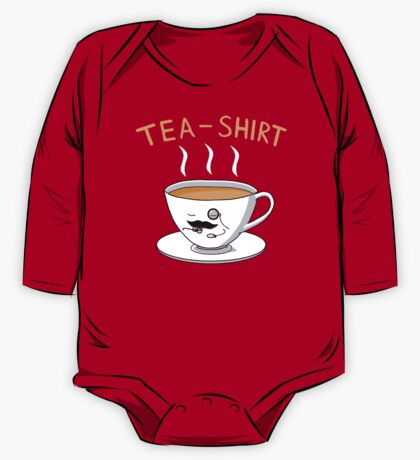 Tea Shirt One Piece - Long Sleeve