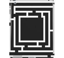 labyrinth ,Kids maze game  iPad Case/Skin