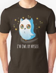 Owl by Myself Unisex T-Shirt