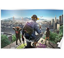 Watch dogs 2  Poster