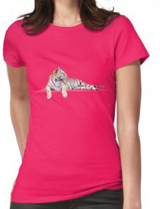 Siberian / Bengal Tiger Womens Fitted T-Shirt