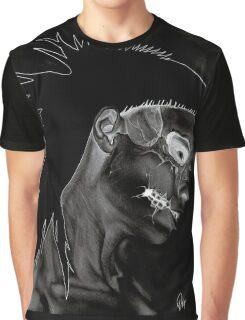 Inverted Yolandi Zombie Girl Graphic T-Shirt