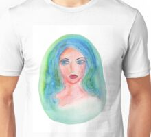 Fantasy Girl Watercolor Unisex T-Shirt