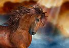 The Bay Stallion by LoneAngel