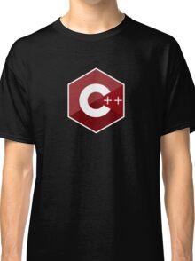 c++ c plus plus red language programming Classic T-Shirt
