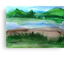 \Watercolor Landscape Canvas Print