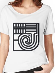 J calligraphy Women's Relaxed Fit T-Shirt