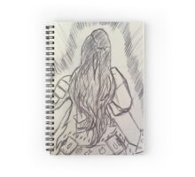 Drawn girl lina dota 2 Spiral Notebook