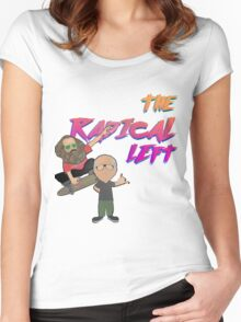 The Radical Left Women's Fitted Scoop T-Shirt
