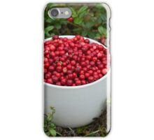 Mug full of Cowberries iPhone Case/Skin