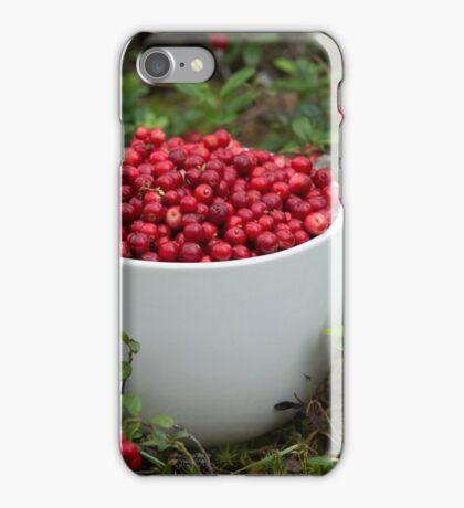 Mug full of Cowberries iPhone Case/Skin